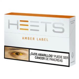 Cigarrillo Heets Amber