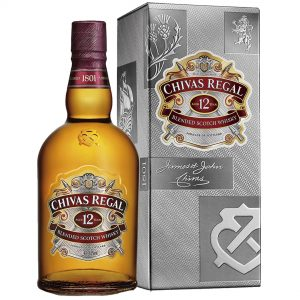 Whisky chivas Regal 12 años 700 ml