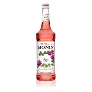 syrup monin rose 750 ml