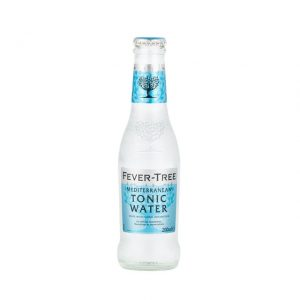 agua tonica fever tree mediterranean 200 ml