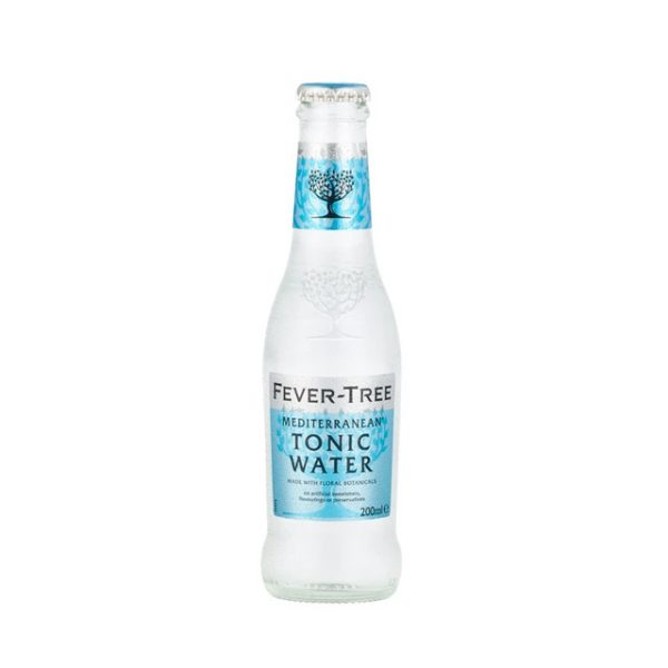 agua tonica fever tree mediterranean 200 ml