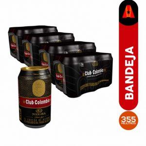 cerveza club colombia negra 355 ml