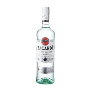 ron bacardi carta blanca 750 ml