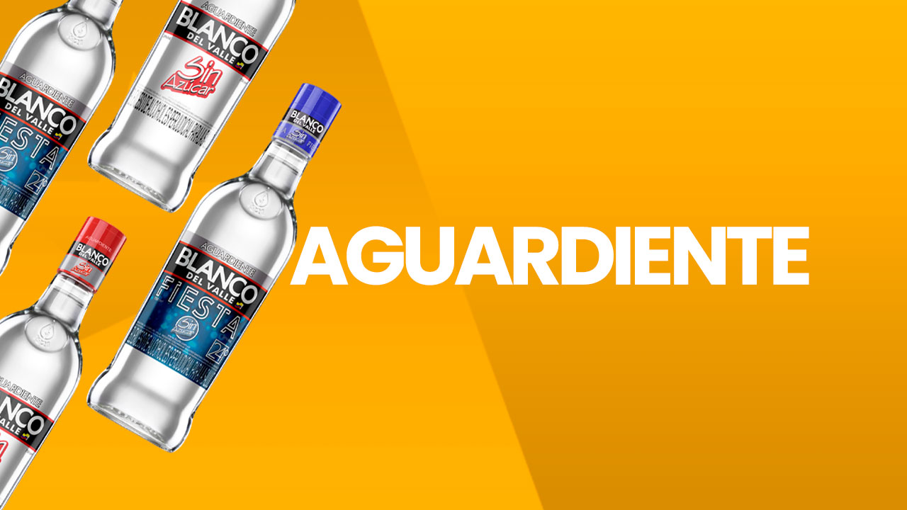 Licores junior aguardiente