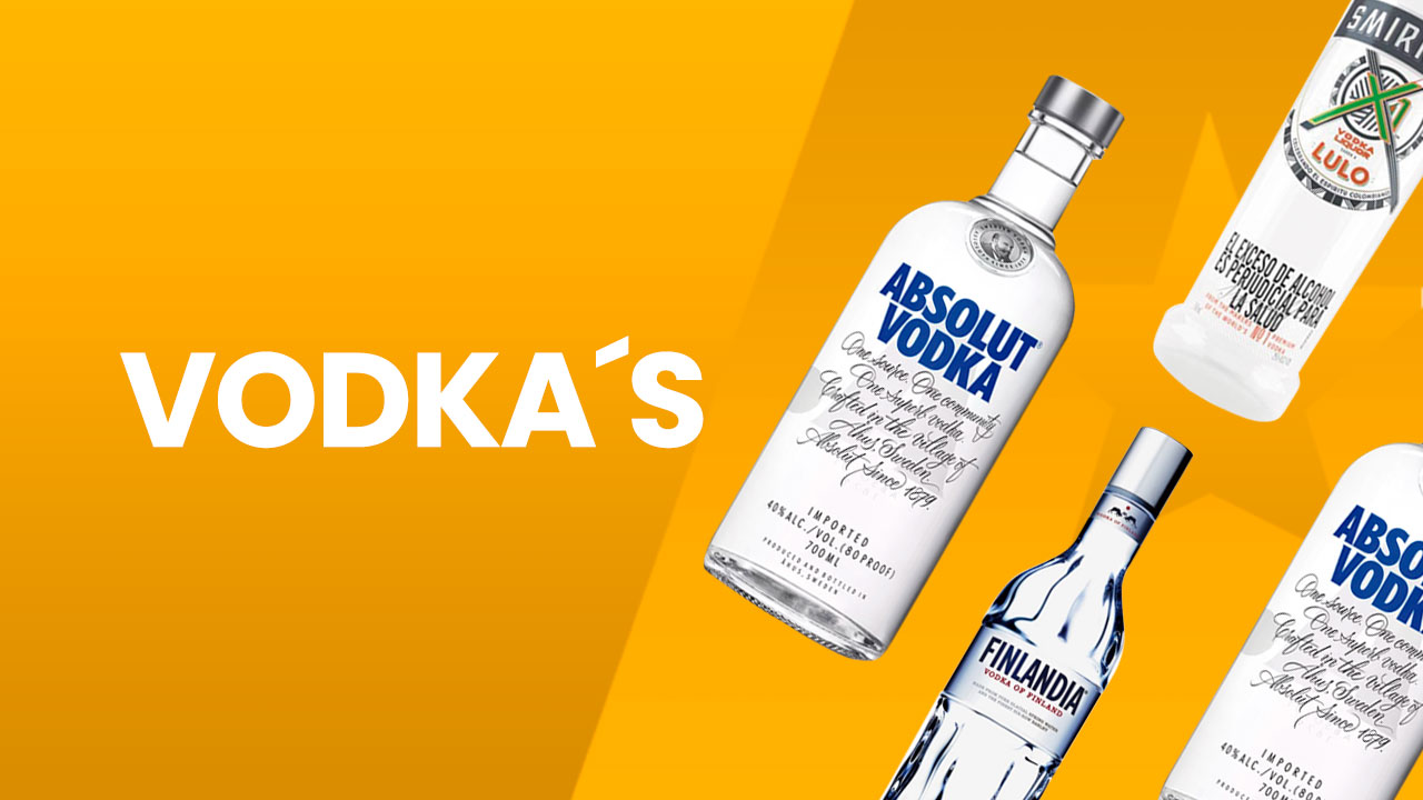 Licores junior vodka