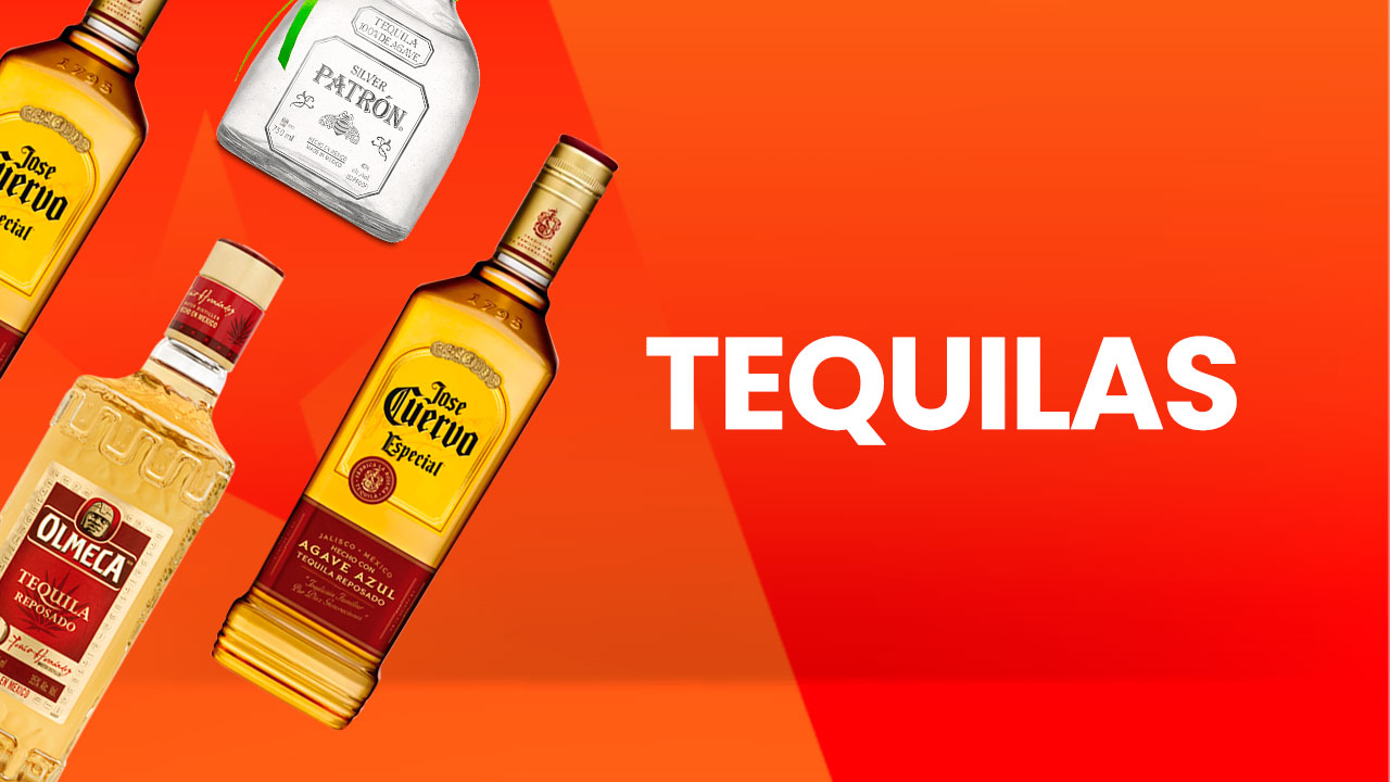 Licores junior tequilas