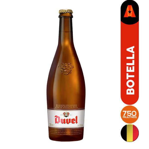 cerveza duvel 750 ml