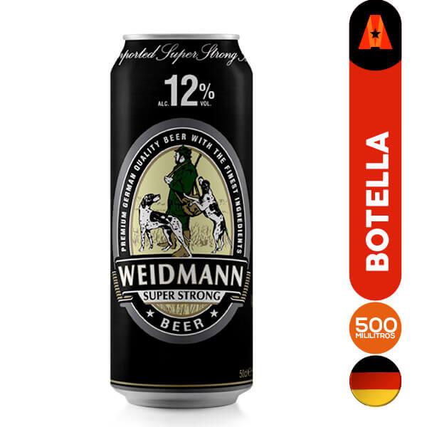 cerveza weidmann super strong