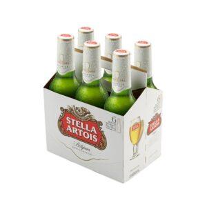 Cerveza Stella Artois 330ml x 6und
